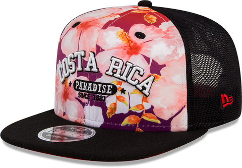 950 OF PARADISE COSRIC FLORAL TRUCKER OSFA