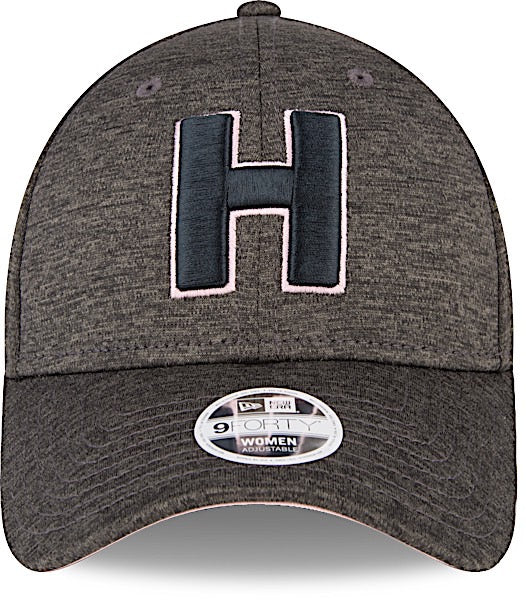 3b7a84ef9a65 Club Sport Herediano Gorra Negra de Mujer 9FORTY Ajustable de New Era