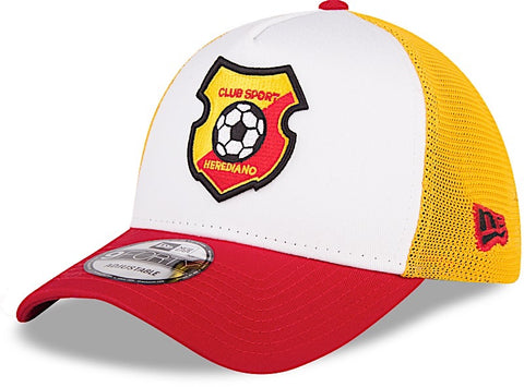 Club Sport Herediano Gorra 9FORTY Trucker con Malla de New Era