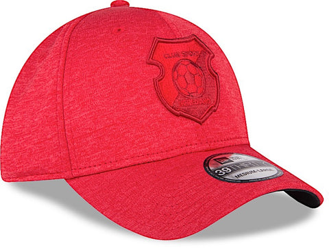 Club Sport Herediano Gorra Roja 39THIRTY Cerrada S/M Shadow Tech de New Era