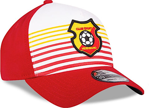Club Sport Herediano Gorra Roja y Amarillo de Rayas 39THIRTY Cerrada ... aaf67900e17