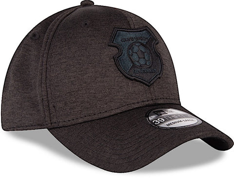 Club Sport Herediano Gorra Negra 39THIRTY Cerrada  Shadow Tech de New Era