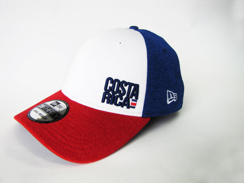 Costa Rica Tricolor Gorra New Era 39Thirty S/M