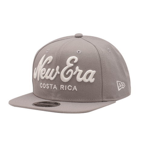 NEW ERA CR SCRIPT GRIS 9FIFTY