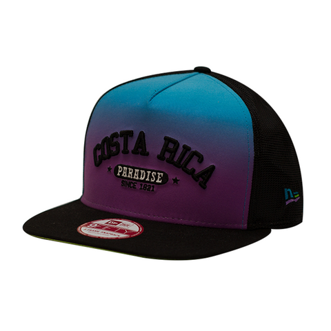 CR PARADISE TRUCKER BLUE FLOW 9FIFTY