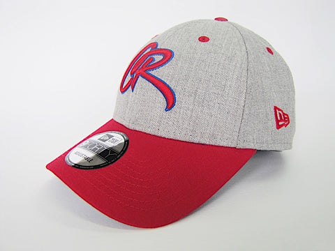 CR Gorra New Era 9Forty Austable Rojo y Gris
