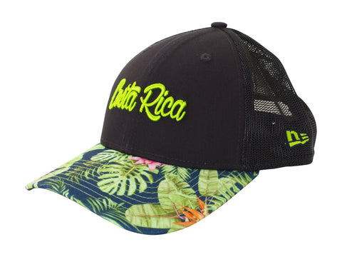 NEW ERA 9FORTY CR FLORAL SNAPBACK