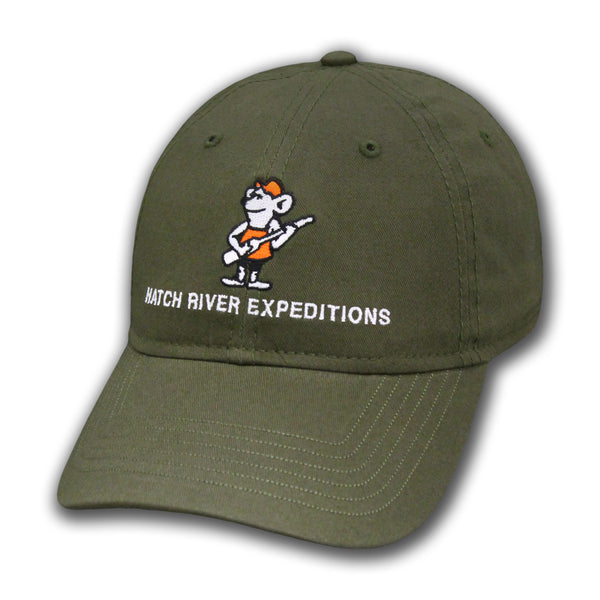 Epic: Washed Twill Cap #51000 - River Rat - Loden