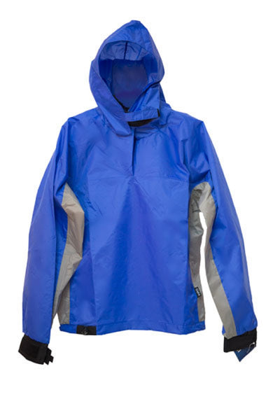 CLEARANCE Rio Hooded Top Paddle Jacket Blue #2589