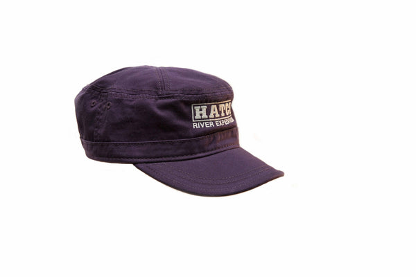 Military: Washed Canvas Cap #51046 - Blackberry