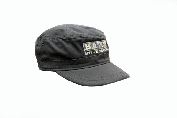 Military: Washed Canvas Cap #51046 - Dark Grey