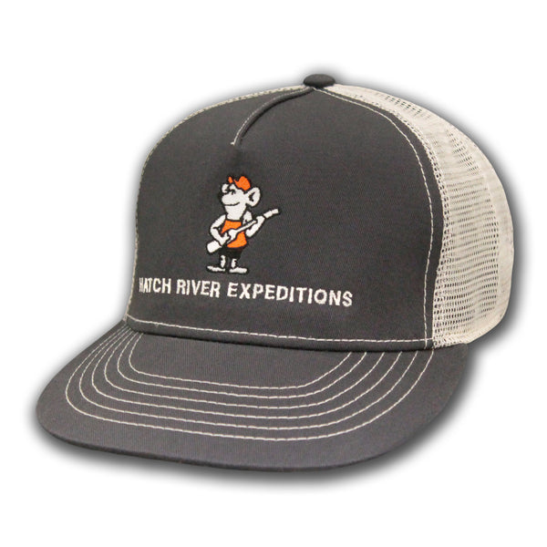 Smitty - Structured High Profile Hat - River Rat - Dark Grey/Natural #51314