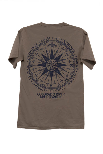 T-Shirt Vintage Compass - Weed