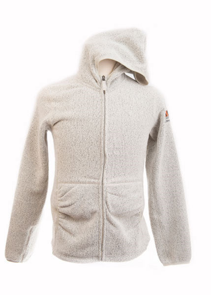Women's Insulator Hoodie Full Zip Jacket Cloud Cream #83004