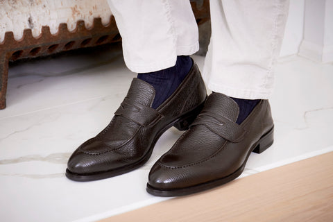 men's loafers brown