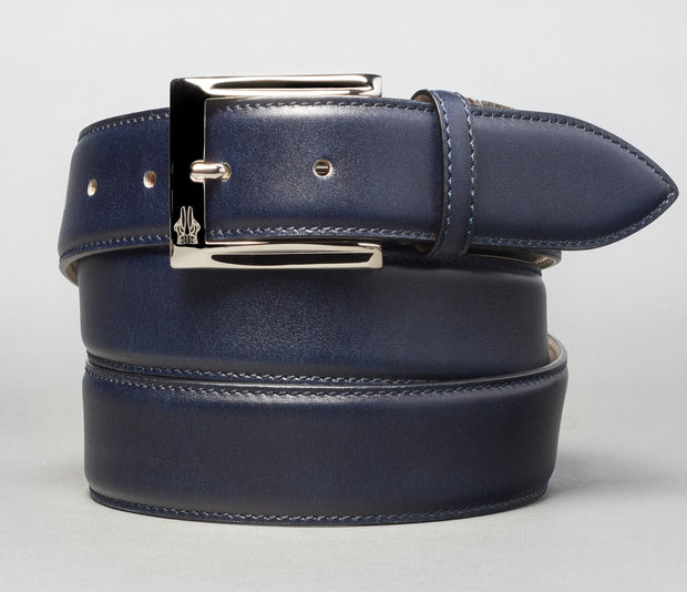 Belt in Navy Blu