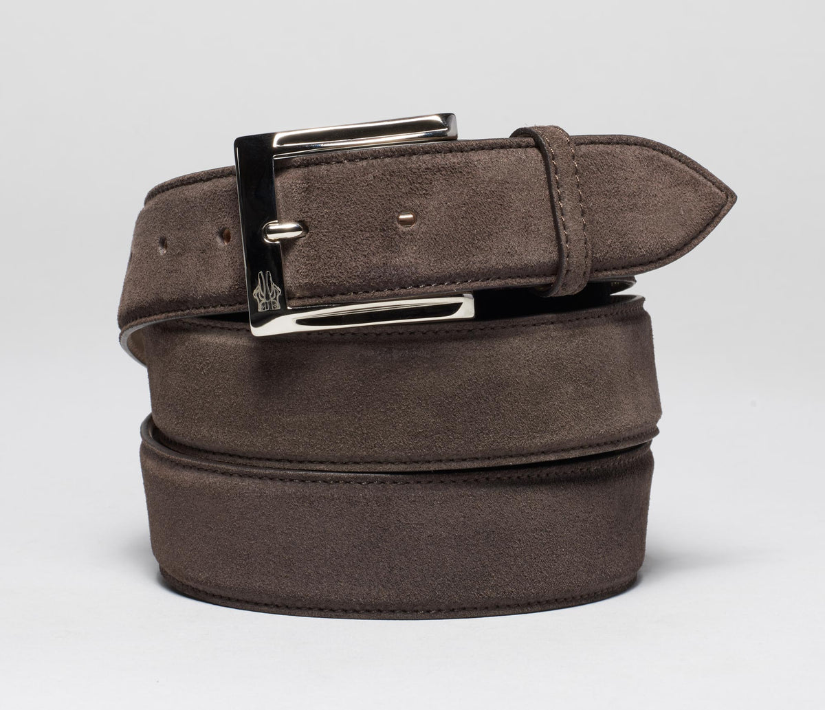 Belt in Velour Corvino