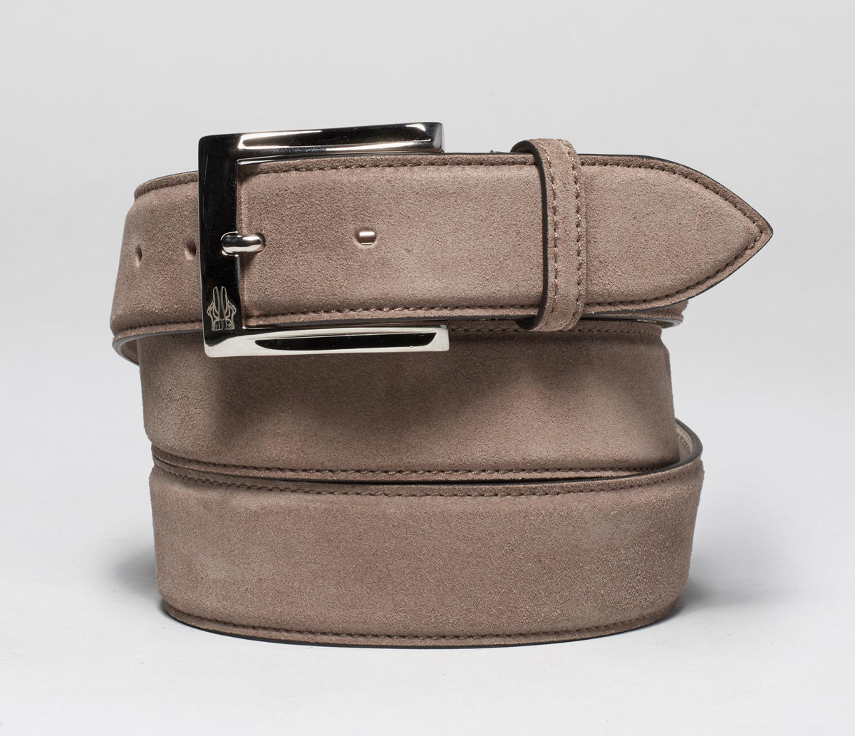 Belt in Velour Marmotta