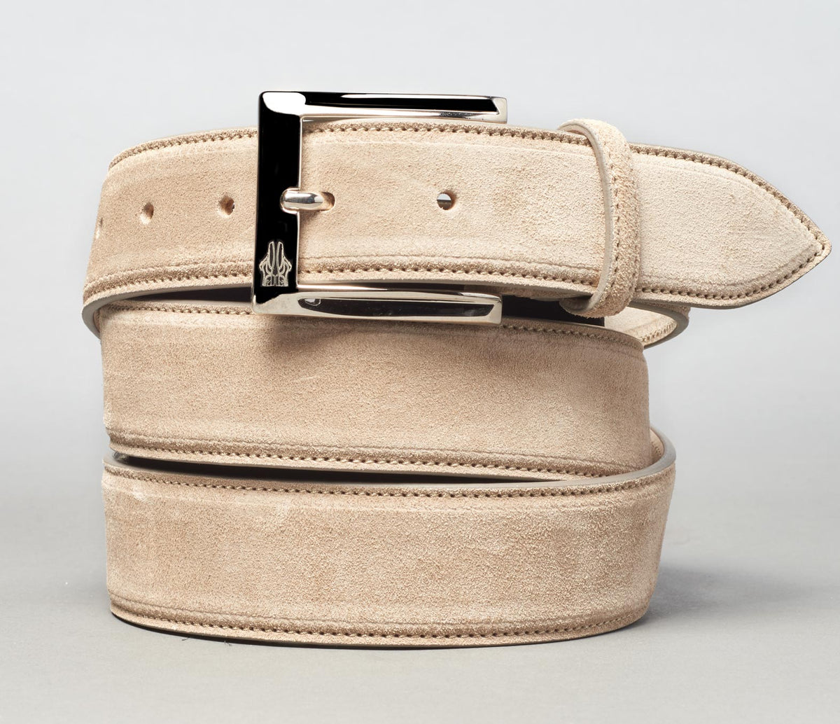 Belt in Velour Fango