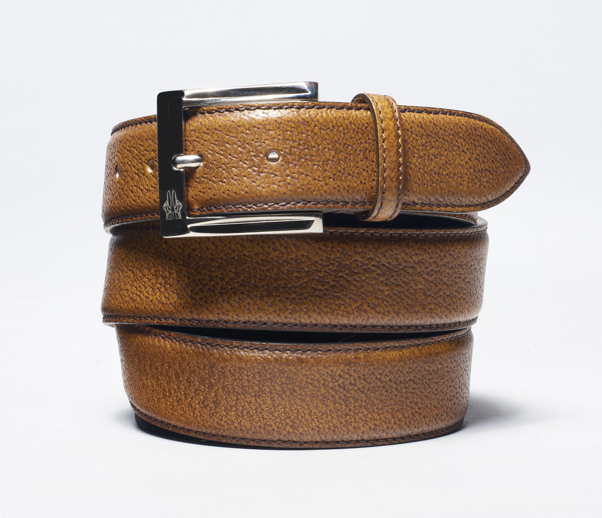 Belt In Pecari Tobacco
