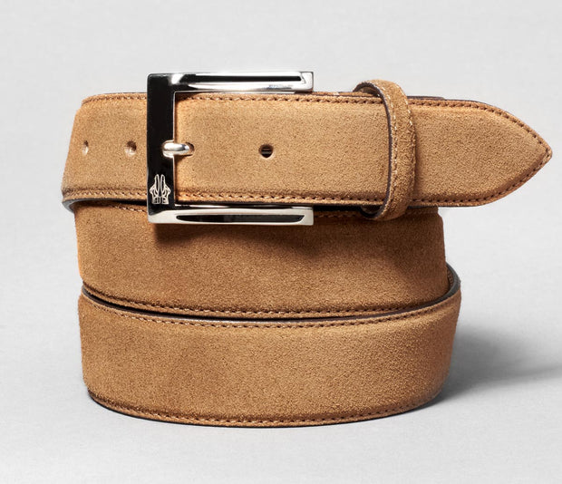Belt in Velour Cacao