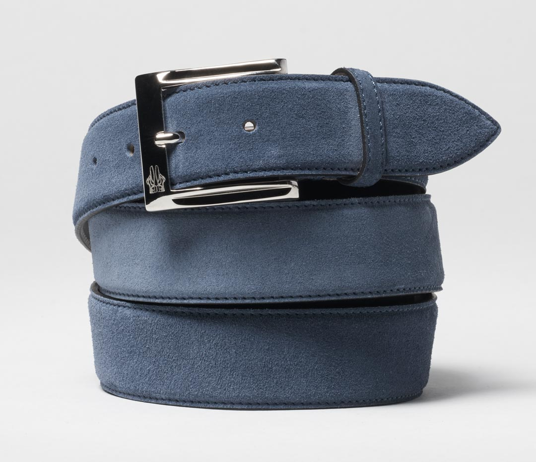Belt in Velour Capri
