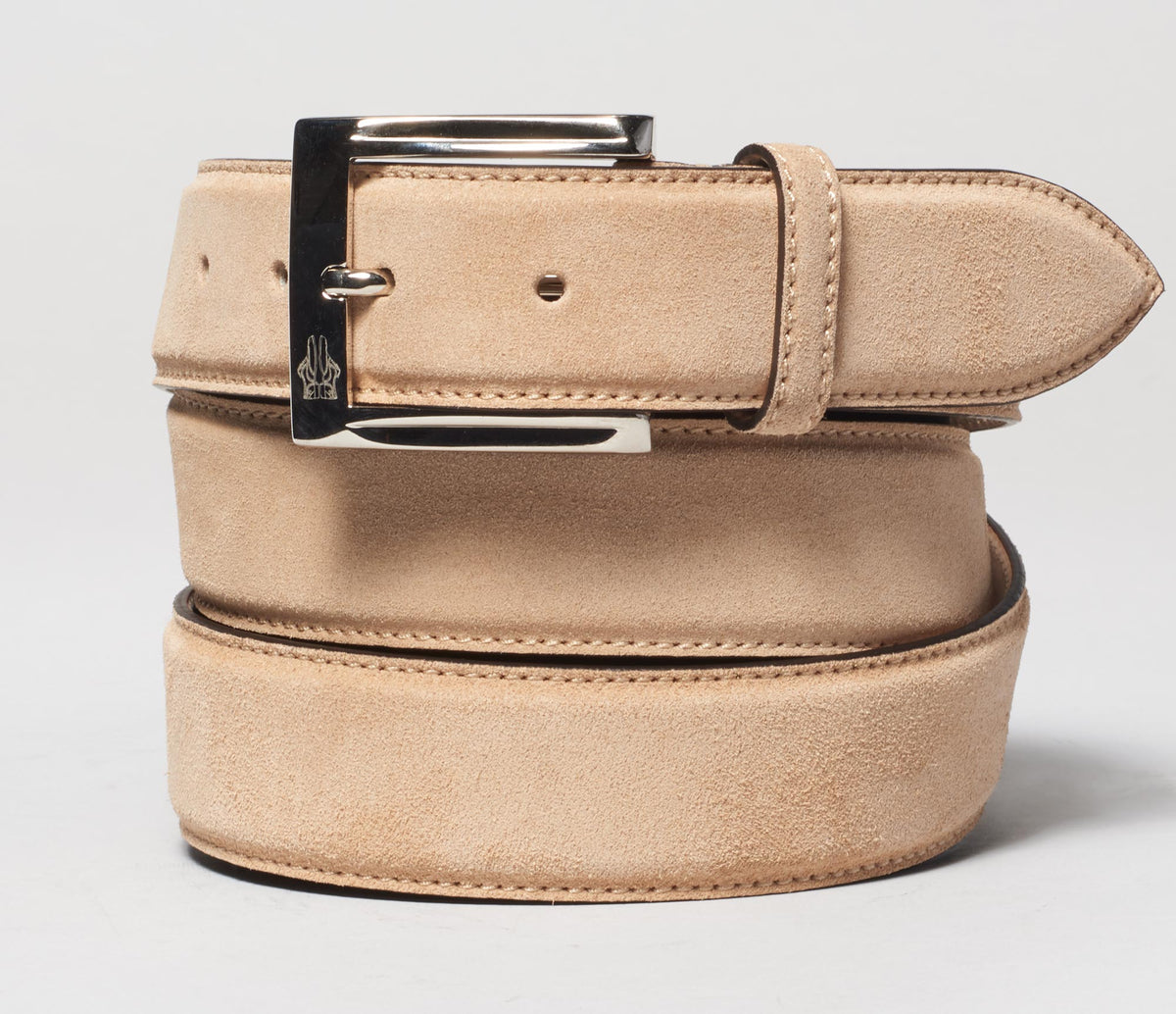 Belt In Velour Dromadaire