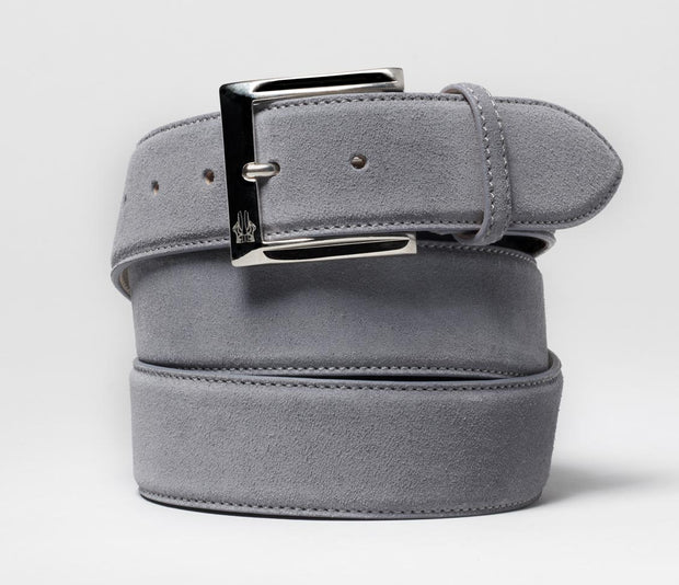 Belt in Velour Gunmetal