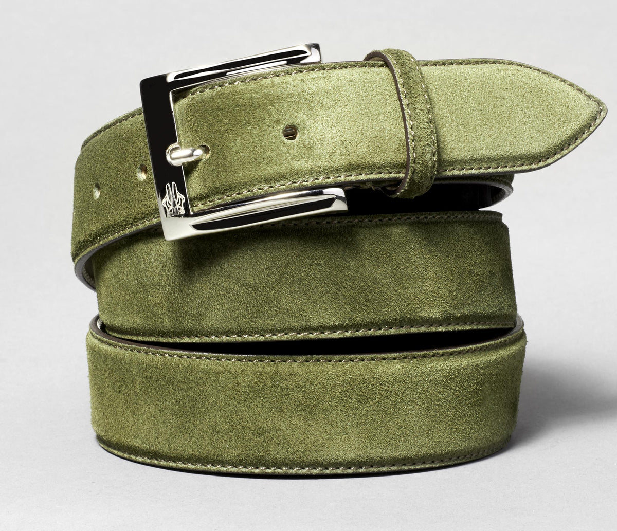 Belt in Velour Leccio