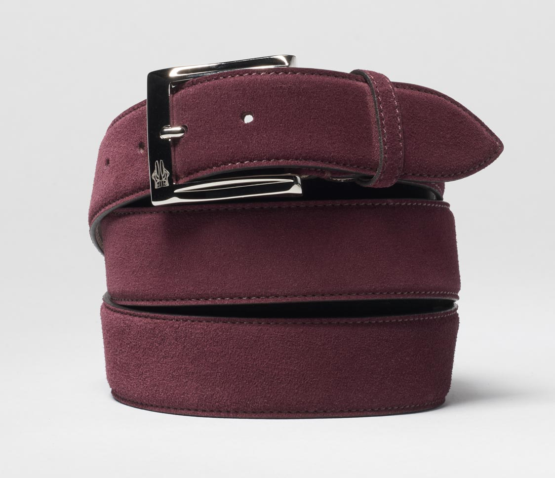 Belt in Velour Orientale