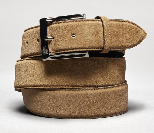 Belt in Velour Sigaro