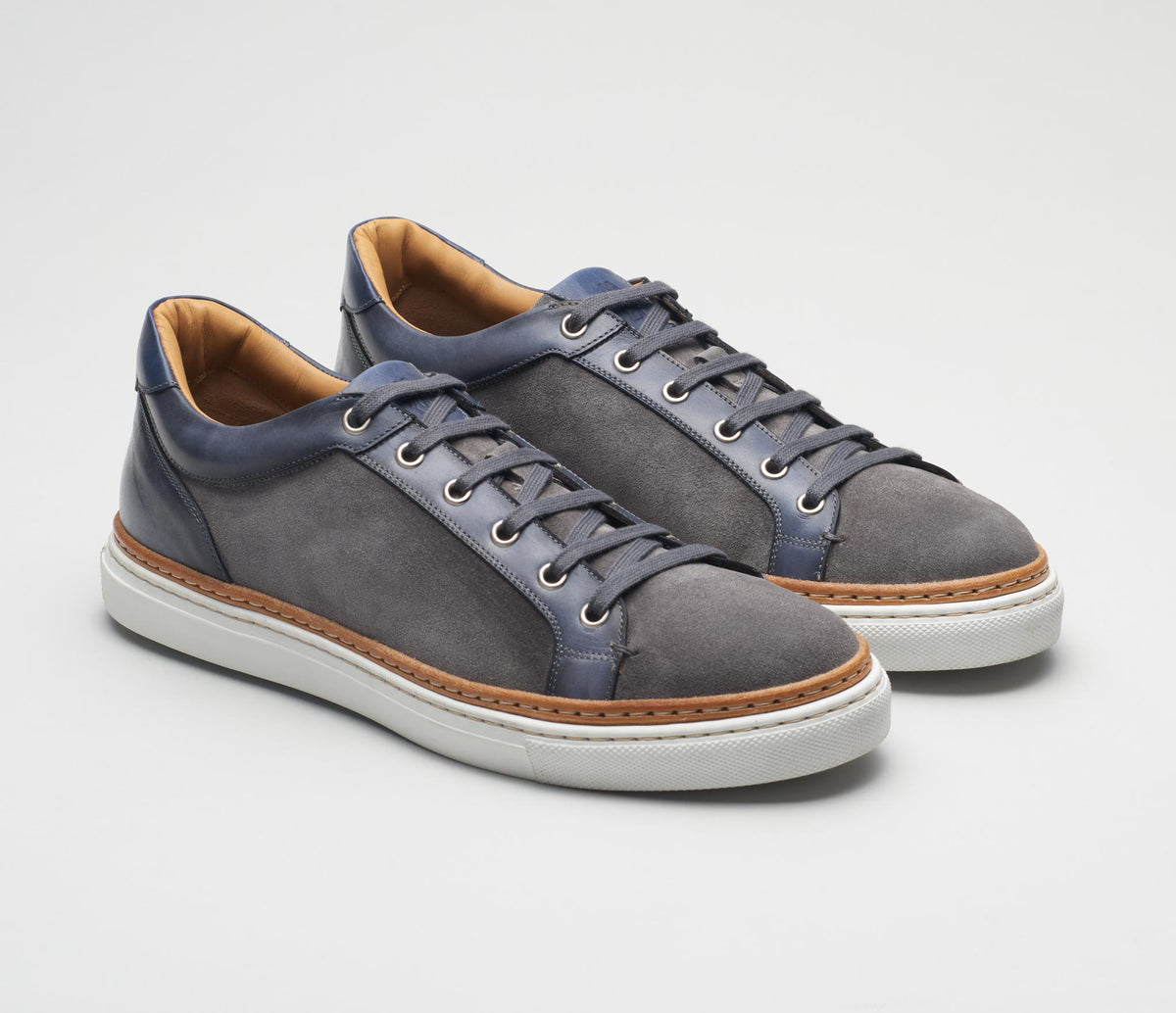 Men's italian shoes, men's sneaker grey