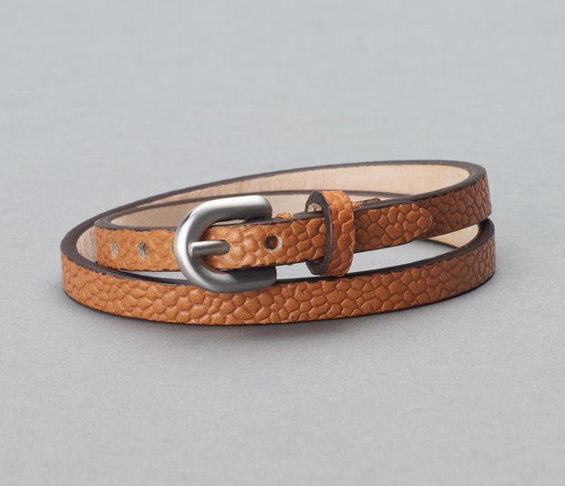 Bracelet Scotch Grain Camel