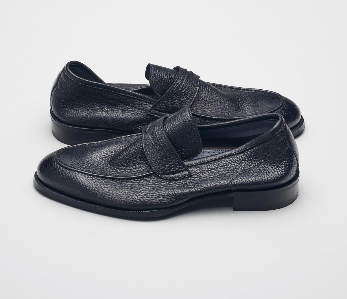 Brera Cervo Loafer in Nero