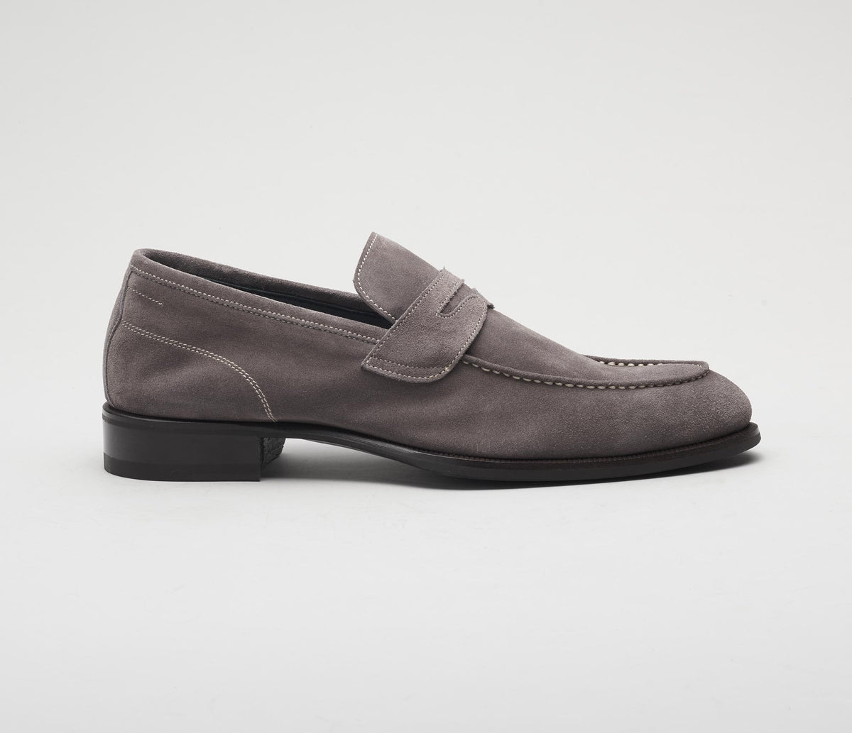 The Brera Peltro Men's Suede Loafers
