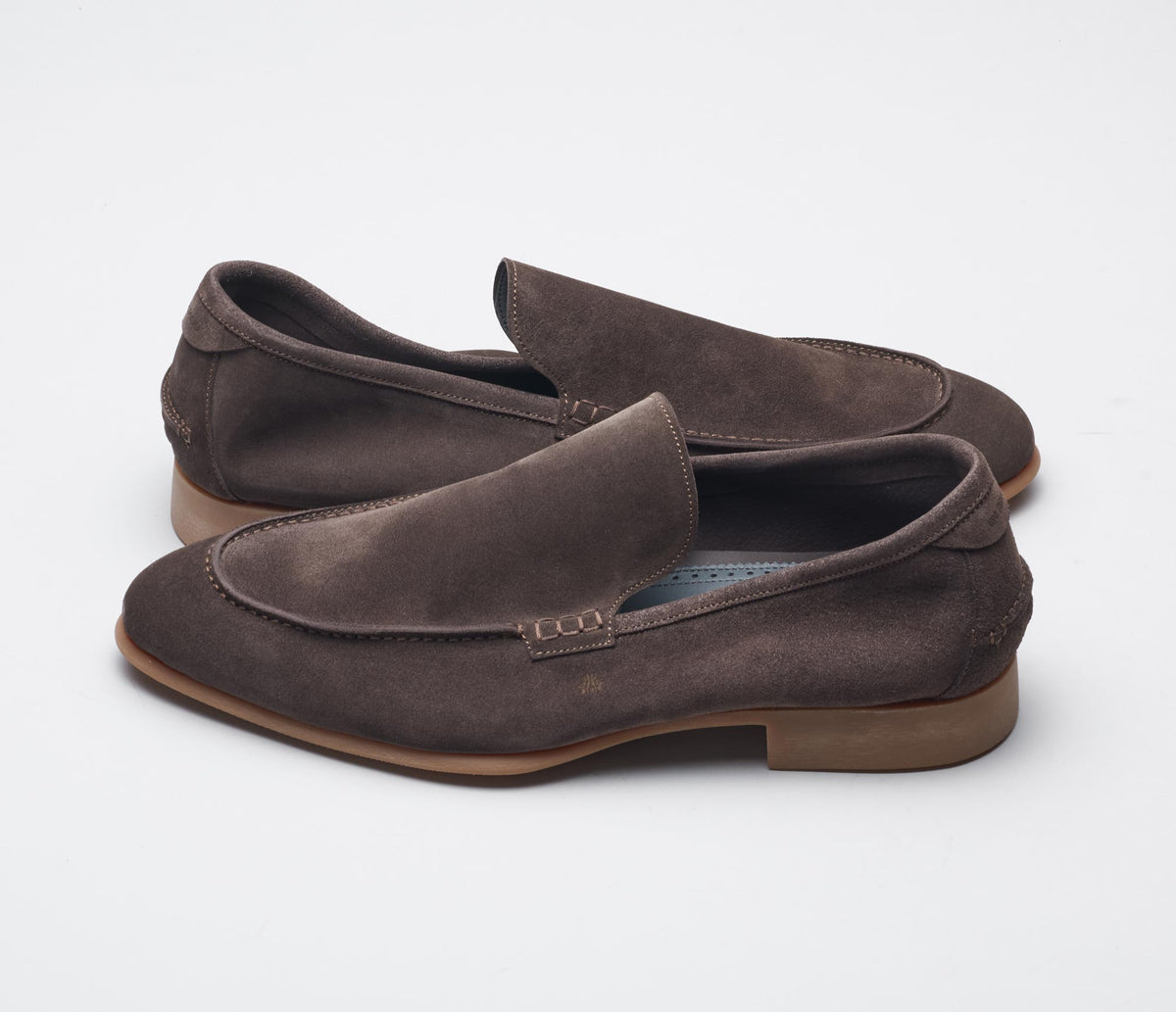 The Etna Moka Men's Suede Loafers