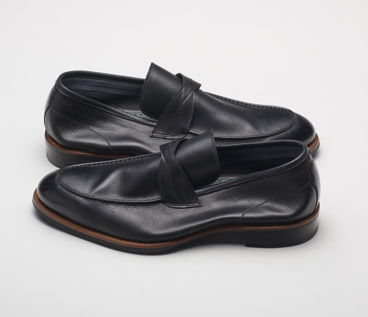 The Firenze Nero Men's Loafers Black