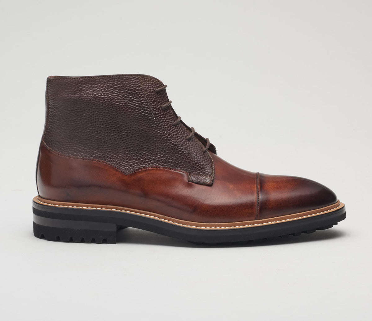 GB346 Calf/Scotch Grain Tan/Fondente