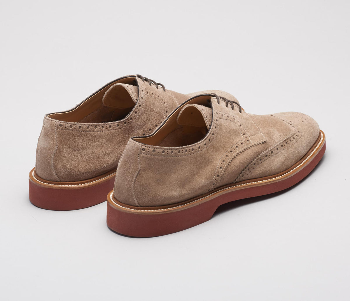 Lodi Suede Lace-up in Avola