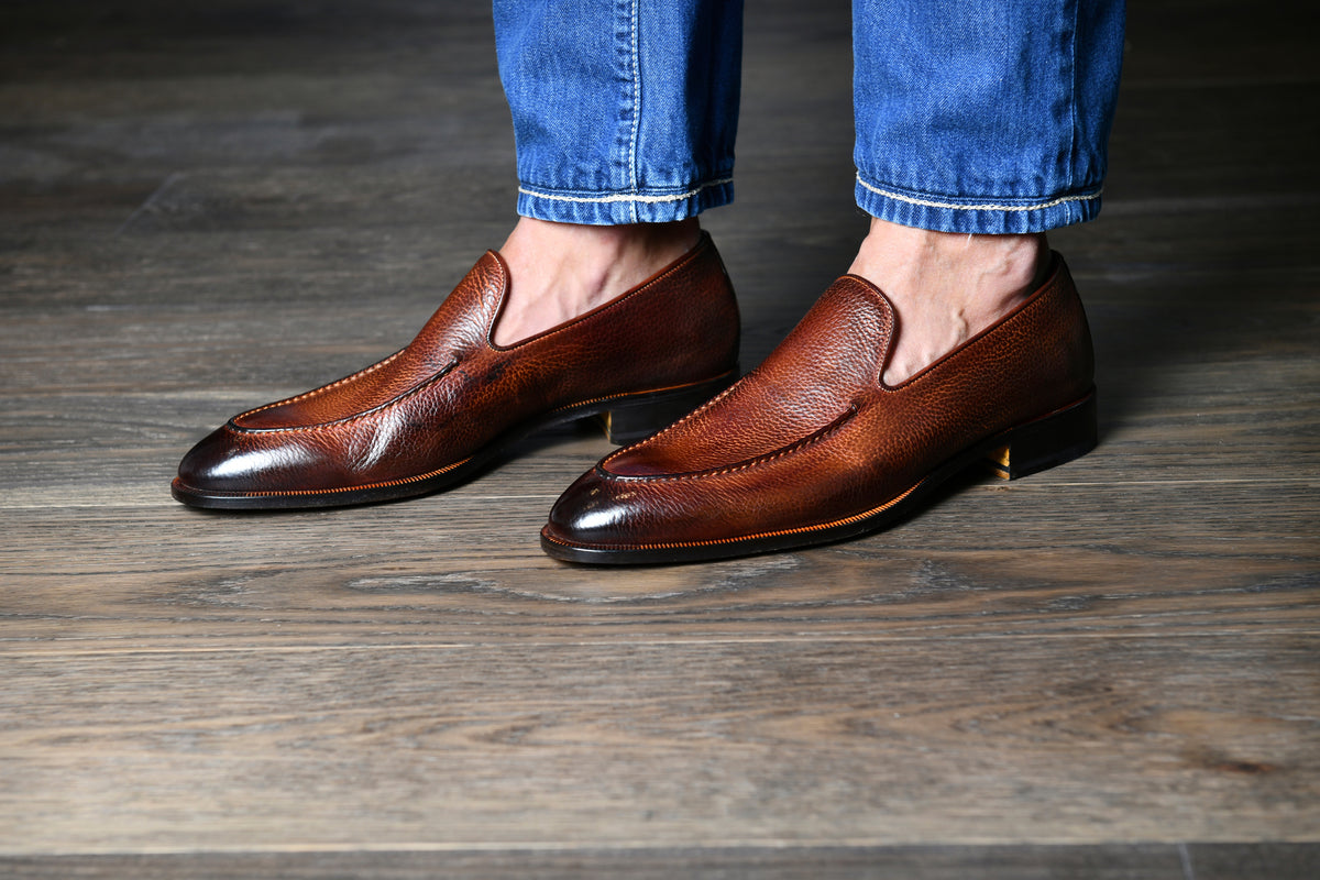 The Istria Tan Men's Loafers