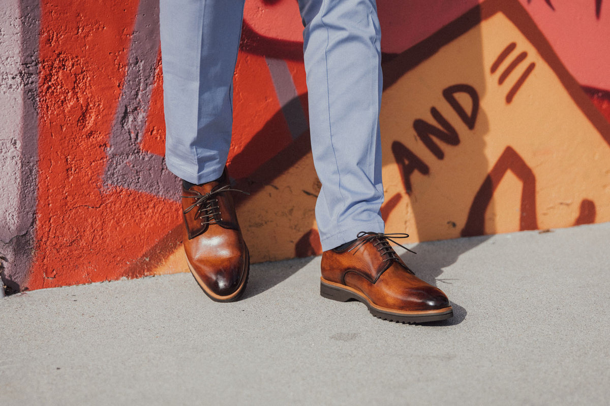 The Breno Marmo Men's Derby Shoes
