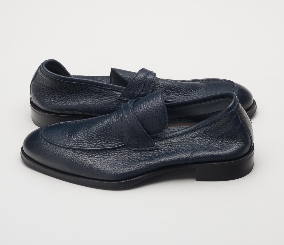 Modena Cervo Loafer in Navy