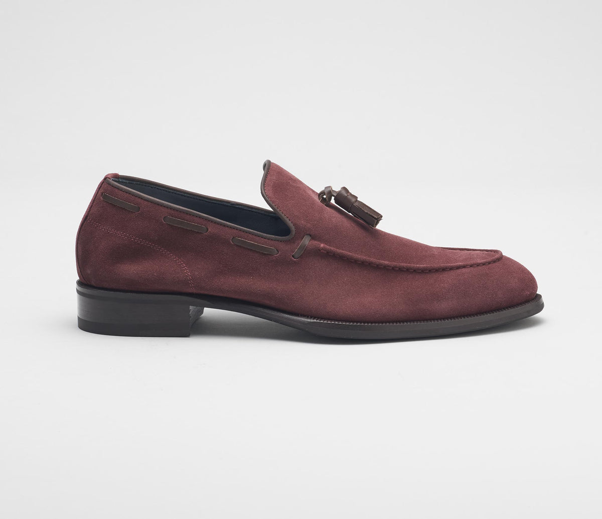 Napoli Suede Loafer in Anima