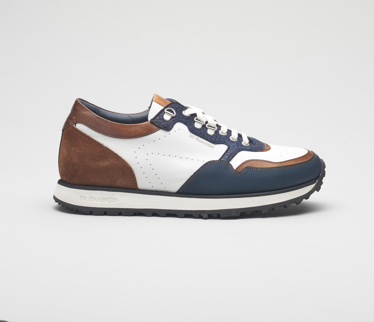 The Potenza Bison Leather Sneakers for Men