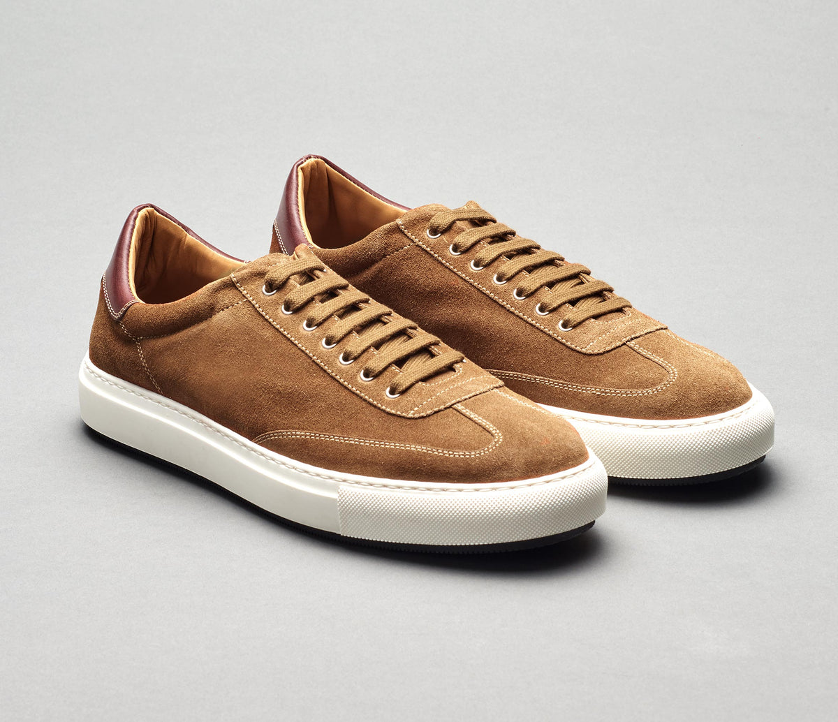 The Capri Martora Men's Dress Sneaker in Suede