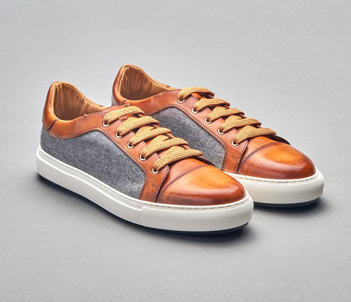 3cf354ba918b SB646 Deco Dress Sneaker in Tan Oslo 4