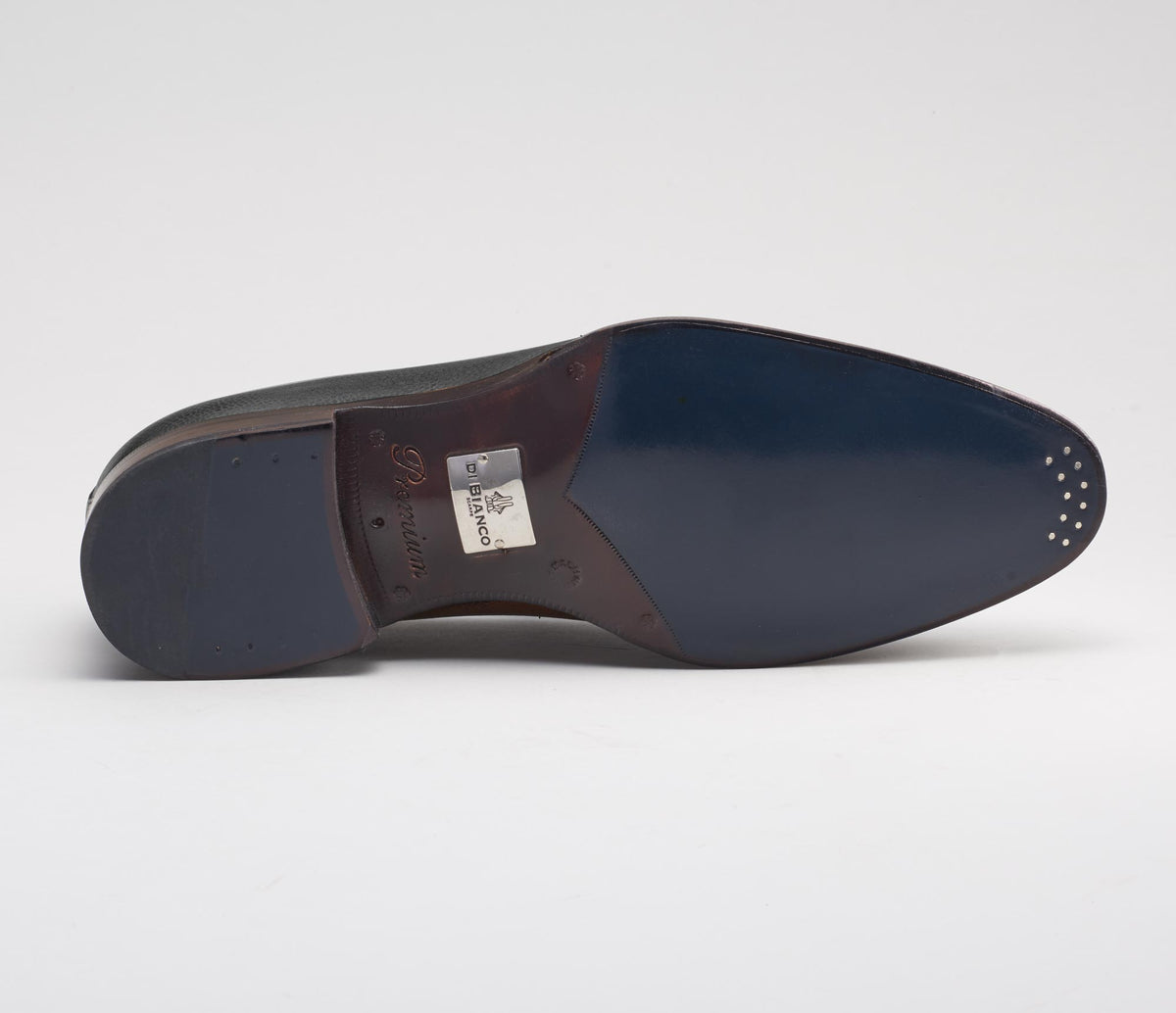 Livorno Leather Pecari Loafer in Nero
