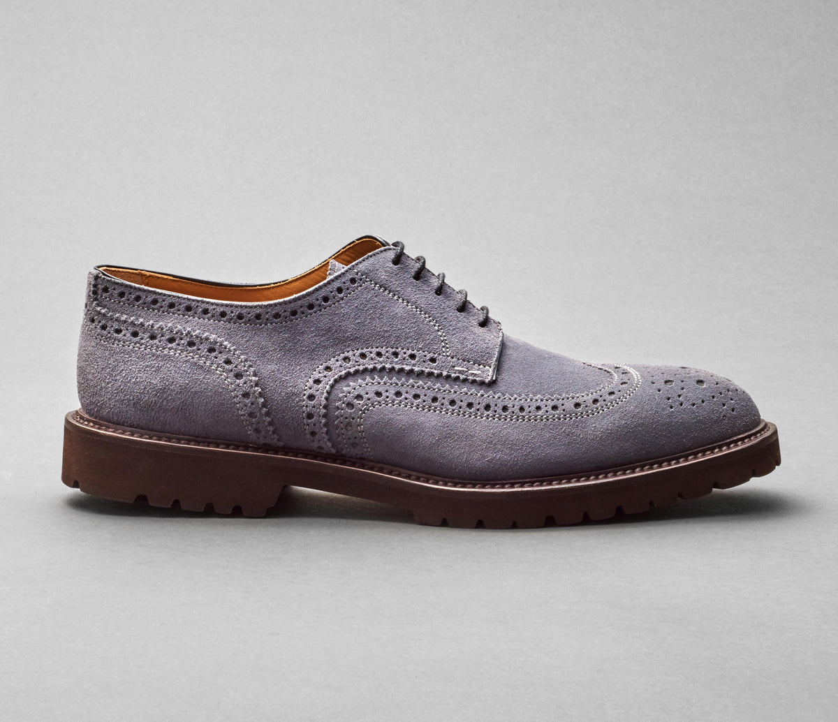 SC533 Velour Gunmetal Mountain Sole