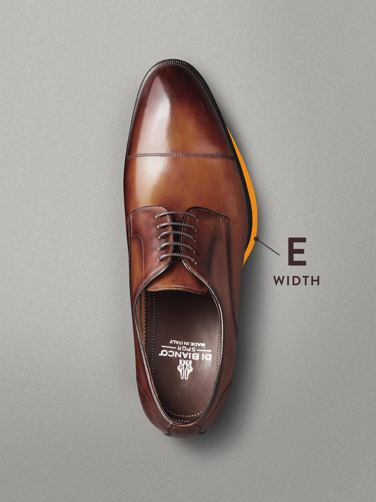Milano Leather Lace-up - Wide Width