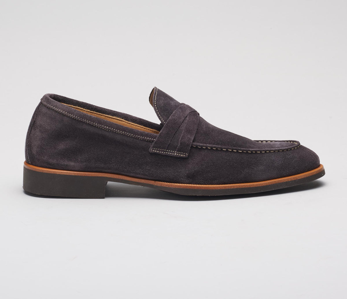Corsica Suede Loafer in Lavagna